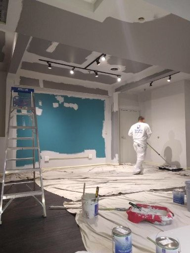Commercial Painters In Action