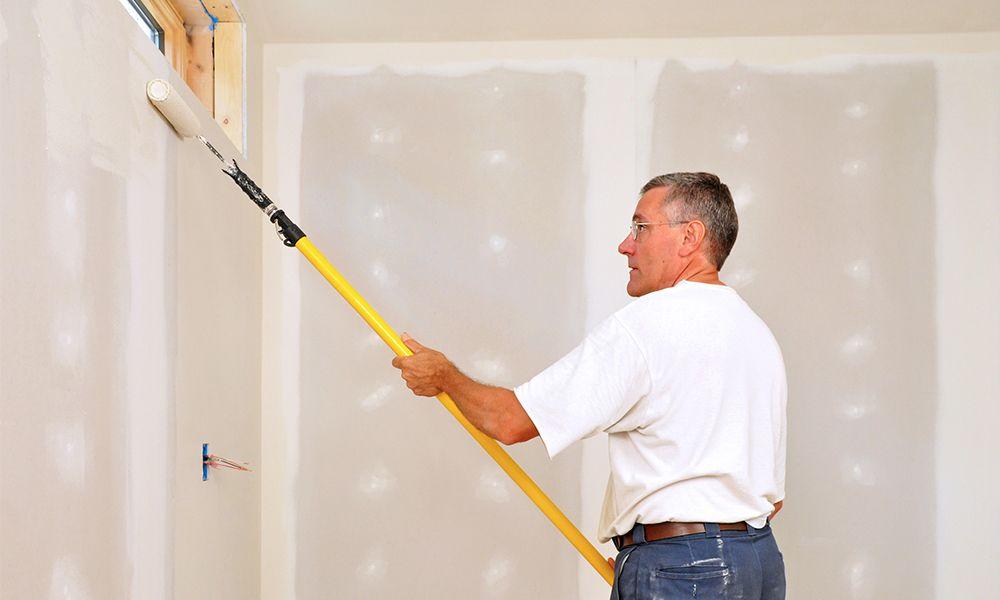Interior paint job in Crystal, MN