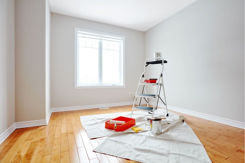 Professional Minneapolis painting contractors in action